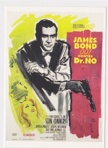 Dr No postcard